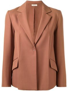NINA RICCI One Button Blazer. #ninaricci #cloth #blazer