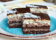 Kokosovo čokoládový zákusok