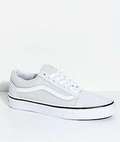 Vans Old Skool Ice Flow & True White Skate Shoes