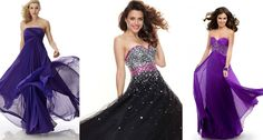 Focusing to fulfil the desire to found something very different and new designers have designed and introduced strapless low neck prom party dresses.