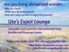 Ute's Expat Lounge (flyer)
