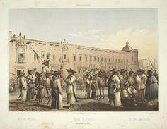Archivo:Chinacos en la Guerra De Reforma, litografia de Casimiro Castro.jpg