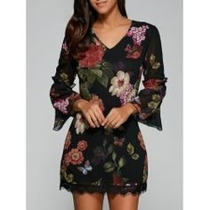 SHARE & Get it FREE | Bell Sleeves Floral Laciness DressFor Fashion Lovers only:80,000+ Items • FREE SHIPPING Join Twinkledeals: Get YOUR $50 NOW!