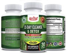 15 Day Cleanse and Detox | Cascara Sagrada Pills-Detox Herbal For Weight Loss, Lose Weight Fast, Flush Out Toxins, Liver Cleanse, Natural Colon Cleanse | Probiotics for Digestive Health | 60 Count #LiverDetoxForWeightLoss