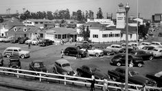 The Original Farmers Market in 1953. Before 3rd and Fairfax was home to Farmers Market, the property was a dairy farm. Then oil was discovered and the cows gave way to oil derricks. By the time the Great Depression hit, large-scale drilling was not permitted on the Mid-City property. So in 1934, two entrepreneurs had an idea to invite local farmers to park their trucks on the property for a small fee and sell fresh produce to the public. It was a hit