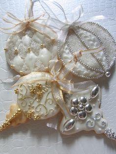Misako's Sweets Blog. Beautiful Christmas Cookies!