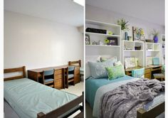before and after dorm