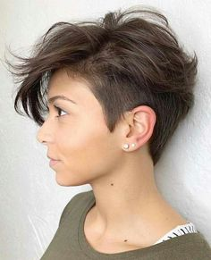 Sassy And Charming Short Pixie Hairstyles In Fall Short Hairstyles;Short Pixie Hairstyles In Fall; : Sassy And Charming Short Pixie Hairstyles In Fall Short Hairstyles;Short Pixie Hairstyles In Fall; Short Hairstyles For Thick Hair, Short Pixie Haircuts, Short Hair Cuts For Women, Curly Hair Styles, Haircut Short, Short Hair With Undercut, Short Haircuts, Short Undercut Hairstyles, Quick Hairstyles