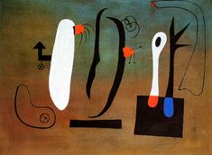 Joan Miró - Surrealism & Abstraction - Composition - 1933
