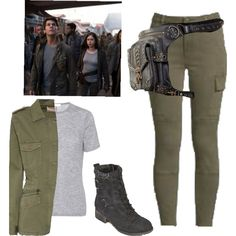 Fashmates is the shoppable fashion social network. Create and share your shoppable looks. Zombie Apocalypse Outfit, Apocalypse Fashion, Zombie Clothes, Runners Outfit, Warrior Outfit, Badass Style, Formal Dresses For Teens, Cool Outfits, Fashion Outfits