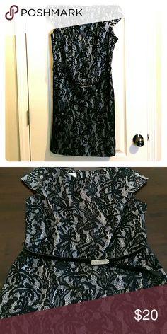 Lace Dress Alex lace black dress includes belt alyx Dresses