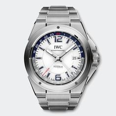 IWC INGENIEUR DUAL TIME. IW324404. 43mm case. 13.5mm thickness.