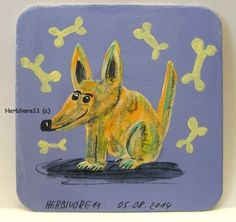 MEIN LANGOHRHUND LIEBT KOCHEN ! von Herbivore11 Bierdeckel Bild Hund Hunde Kunst