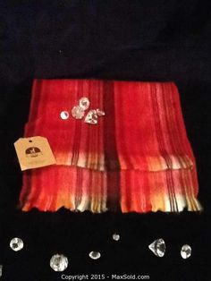MaxSold - Auction: Kingston  The Crystal Ball Gala Community Fundraising Online Auction Alpaca Scarf From Magnolia Flowers