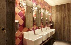 Las Iguanas – Mermaid Quay, Cardiff | B3 Designers #bathroom