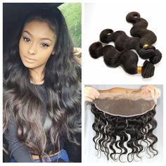 100 Best Full Lace Frontal Human Hair Closure