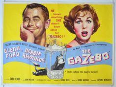 The gazebo film poster Best Movie Posters, Cinema Posters, Original Movie Posters, Film Posters, John Mcgiver, Quad, Carl Reiner, Debbie Reynolds
