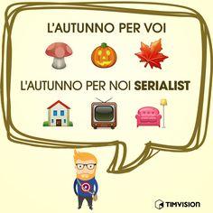 #autunno #autumn #nerd #serietv #halloween #home #TIMvision