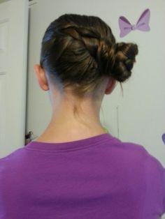 Dutch braid into a low bun today. Bun Hairstyles, Dutch, Braids, Tattoos, Women, Bang Braids, Cornrows, Tatuajes, Dutch Language