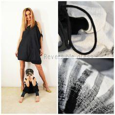 Oboustranné...+šaty+černé+i+krémové+z+velmi+příjemného+bavlněného,+měkce+splývavého+materiálu+s+kresbou++asymetrické+Délka+šatů+je+na+přání,+stejně+tak+je+možnost+šatů+bez+kresby,+nebo+v+barvě+uni.+Pro+milovnice+bílo-bílé,+nebo+černo-černé...+velikosti+36/38,+40/42,+44/46+Taška+k+šatům+může+být+i...tato