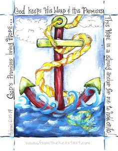 The Anchor holds (Hebrews 6:17-19)