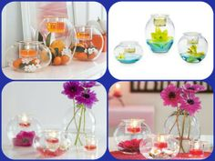 Creative Eclectic Votive Trio ~  °°DIY= Decorate it Yourself°° ~  What ideas do you have? ~  www.partylite.biz/bayoucandles ~  #PartyLite