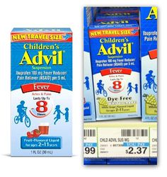 Free Children's Advil at CVS!