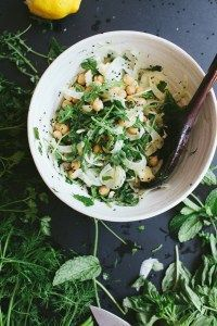 Chickpeas with Fenne