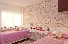quartos decorados com tecido na parede - Pesquisa Google
