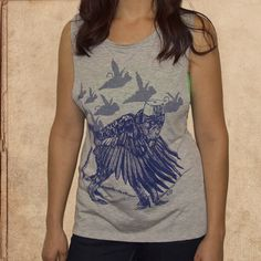 Wizard of Oz - women's relaxed fit tank - heather grey