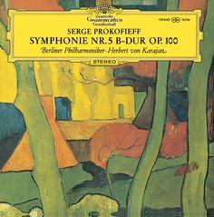 Prokofiev Symphonie No. 5 (1970) #Karajan
