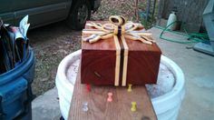 ribbon box - by handyman64 @ LumberJocks.com ~ woodworking community