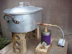 cold smoke generator plans - Recherche Google