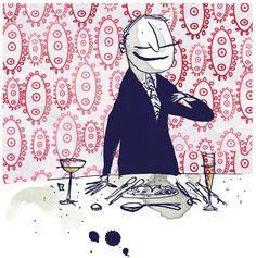 Adam Larkum illustration.