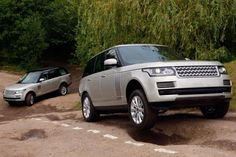 2013 Range Rover up hill