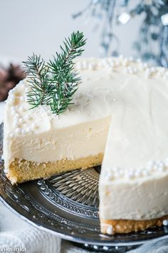 White Chocolate Truffle Cake that will become the talk of the table at any…