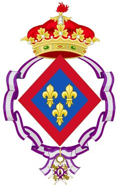 Posthumous Coat of arms of Isabella, Infanta of Spain (1851–1931)