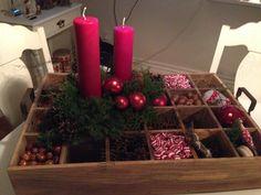 Rød jul i køkkenet