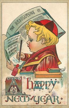 136 best vintage new year cards images on pinterest vintage cards
