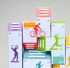 #Tetris Sneaker Boxes. #packaging