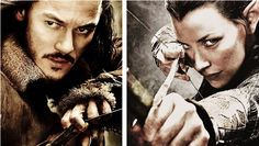 Bard and Tauriel