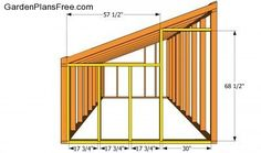 Step by step diy project about lean to greenhouse plans. Building a lean to greenhouse is a great weekend project, especially if you want to grow your own vegetables. Lean To Greenhouse, Greenhouse Plans, Greenhouse Frame, Greenhouse Wedding, Cheap Greenhouse, Building A Shed, Shed Storage, Plan Design, Garden Planning