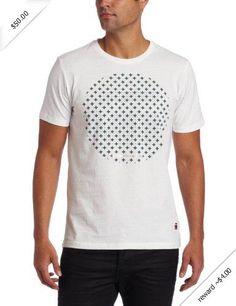 G-Star Men's CL Tist Short Sleeve Round Neck T-Shirt, White, Large