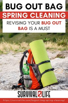 As the ground starts to thaw and the world starts to become green again, it is time to review your bugout bag. I suggest that you inventory the contents of your bag with each season as different weather will require different contents. During your bugout bag spring cleaning, your focus should be all about moisture. Learn more! #survivallife #survival #preparedness #survivalist #spring #bugoutbag #BOB Survival Life, Survival Prepping, Emergency Preparedness, Survival Skills, Bug Out Gear, Bug Out Bag Checklist, Spring Cleaning, Contents, Bugs