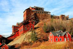Part of the Kennecott Copper Mine and Mill, near McCarthy, Alaska