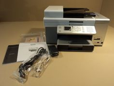 Lexmark Multifunction Inkjet Color Printer WiFi Wireless All In One X9575. Material: Plastic. Material: Metal. Dimensions: 18in L x 15in W x 14in D. Color: Gray. Country of Manufacture: China. Comes with power adaptor. The ink cartridges have been installed so assume new ones will need to be purchased. Item has not been used. Item may be disassembled for shipment. Kodak Printer, Ink Cartridges, Plastic Material, Wifi, All In One, Computers, China, Gray, Country