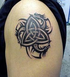 Cool Celtic Dragon Tattoo !!!