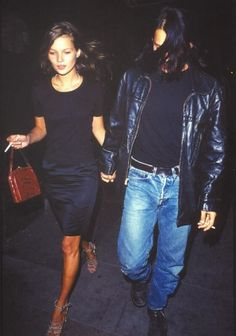 Kate Moss & Johnny Deep - 1990s