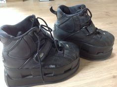BUFFALO-tower-platform-boots-VINTAGE-RETRO-90S-nineties-RARE-UK-5-5