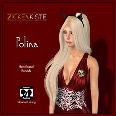 SCALA™ My Bloody Valentine 2017 starts today  February 2 until February 17th. Zickenkiste is participating on this event. Polina Dress comes in 4 different colors (Black, Blue, Red and Purple). Als…
